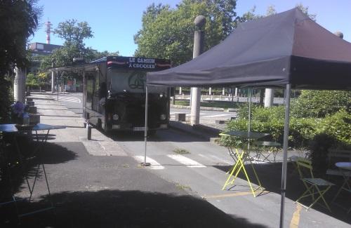 Camion à Croquer, food truck Rennes place du Chene Germain